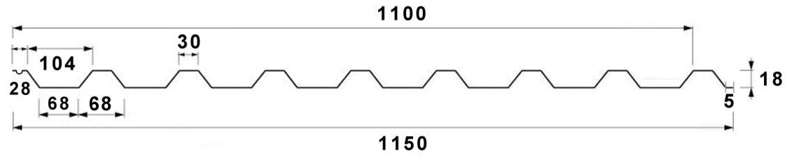 trapez-t18-metszet